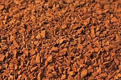 Natychmiastowej kawy tekstury wzór Fotografia Stock