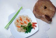 Natychmiastowi kluski z Azjatyckimi smakami Zdjęcie Royalty Free
