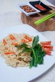 Natychmiastowi kluski z Azjatyckimi smakami Fotografia Stock