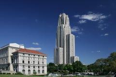 naucz się katedralny Pittsburgha uniwersytet Zdjęcie Stock