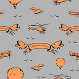 naucz się latać Ilustracja Wektor