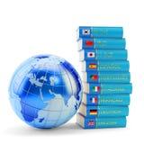Nauczania online pojęcie Zdjęcia Stock