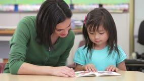 Nauczyciel Czytelnicza książka Z Żeńskim uczniem zbiory