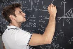 Nauczyciel przy pracą zdjęcia stock