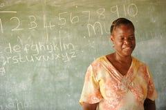 nauczycielka dzieci afryki Obraz Royalty Free