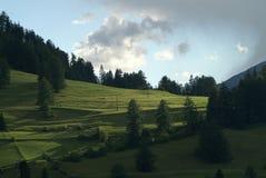 Nauders, el Tyrol Imagen de archivo libre de regalías