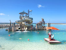 Naufrágio Cay Water Slides fotos de stock