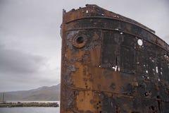 Naufrágio em Djupavik 1 imagem de stock
