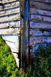 Naufrágio encalhado velho em Wrabness Fotos de Stock