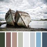 Naufraga la paleta fotos de archivo libres de regalías