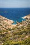 Naufrage, Amorgos, Cyclades, Grèce Photos libres de droits