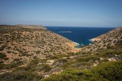 Naufrage, Amorgos, Cyclades, Grèce Image libre de droits
