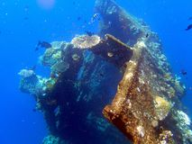 Naufrage USS Liberty - Bali Indonésie Asie image stock