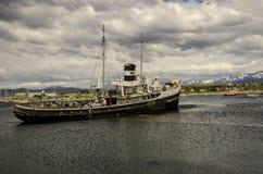 Naufragio de Ushuaia Imagenes de archivo