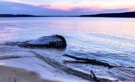 Naufragio del lago Superior Imagenes de archivo
