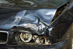 Naufragio dell'automobile Fotografie Stock Libere da Diritti