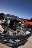 Naufragio dell'automobile fotografia stock libera da diritti
