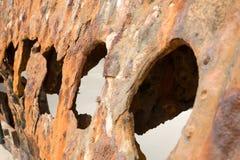 Naufragio dell'isola di Fraser Fotografie Stock