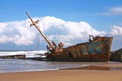 Naufragio della nave immagine stock