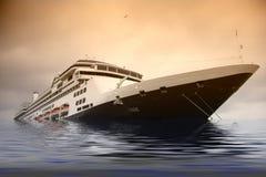 Naufragio della nave fotografie stock