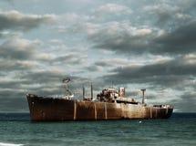 Naufragio della nave immagini stock libere da diritti