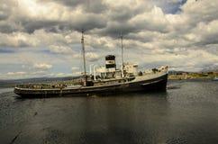 Naufragio di Ushuaia Fotografie Stock Libere da Diritti