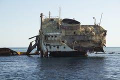 Naufragio nel Mar Rosso Fotografia Stock Libera da Diritti