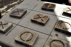 Naughts & Crosses Royalty Free Stock Image