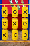 Naughts and crosses Stock Images