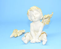 The naughty angel Stock Photo