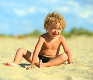 Blond boy Royalty Free Stock Photo