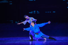 """The naughty boy-Dance drama """"The Dream of Maritime Silk Road"""". Dance drama """"The Dream of Maritime Silk Road"""" centers on the plot of two royalty free stock photos"""