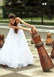 Naughty bride Stock Photos