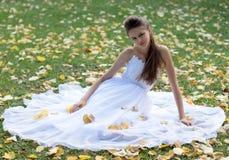 Naughty bride Royalty Free Stock Photos