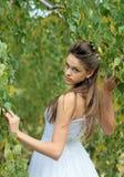 Naughty bride Stock Photography