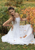 Naughty bride Royalty Free Stock Images