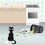Naughty cat 5 Stock Photo