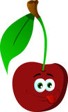 Naughty cherry Royalty Free Stock Images