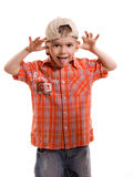 Naughty child Royalty Free Stock Images