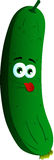 Naughty cucumber or pickle Stock Image