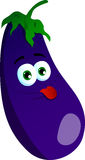 Naughty eggplant Royalty Free Stock Images