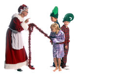 Naughty Elves Stock Images
