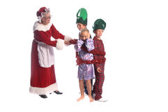 Naughty Elves Royalty Free Stock Photos