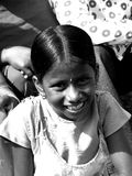 Naughty Girl. A naughty Indian girl smiles Royalty Free Stock Images