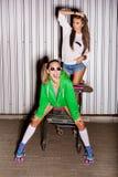 Naughty girls Royalty Free Stock Photography