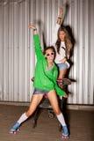 Naughty girls Royalty Free Stock Photo