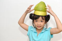 Naughty happy kid Royalty Free Stock Images