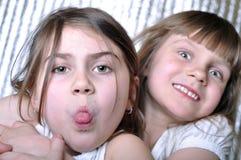 Naughty kids Stock Photo
