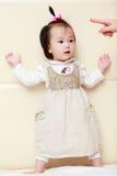 Naughty little girl Royalty Free Stock Photos