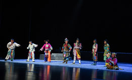 "Naughty little tiger-Children's Beijing Opera""Yue teenager"" Royalty Free Stock Image"